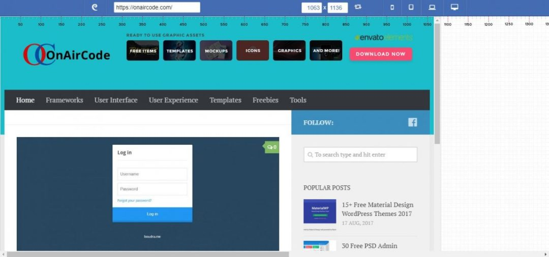 Designmodo Responsive Web Test