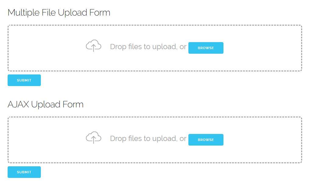 Drop Uploader - Drag and Drop File Uploader