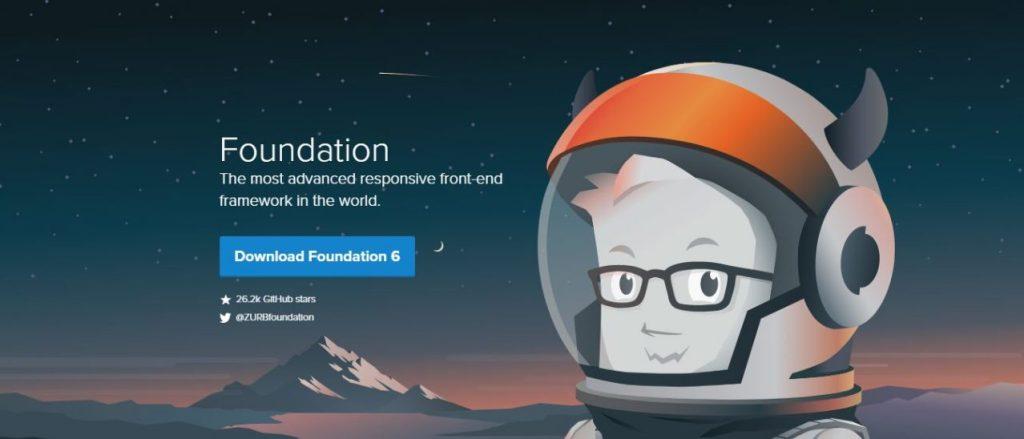 Foundation - Front-End Framework Frontend Development Framework
