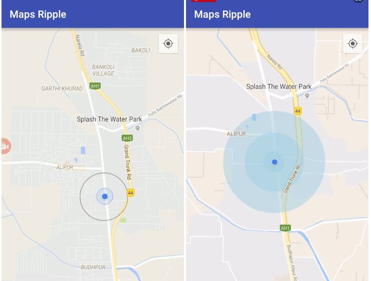 Google Maps Animations