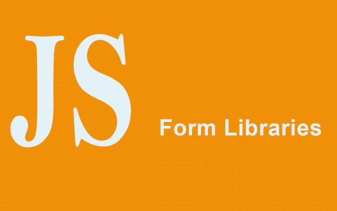Best JavaScript Form Libraries