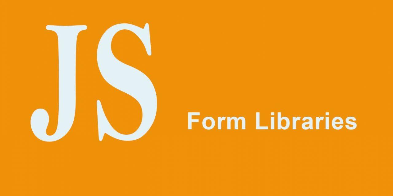 15 Best JavaScript Form Libraries
