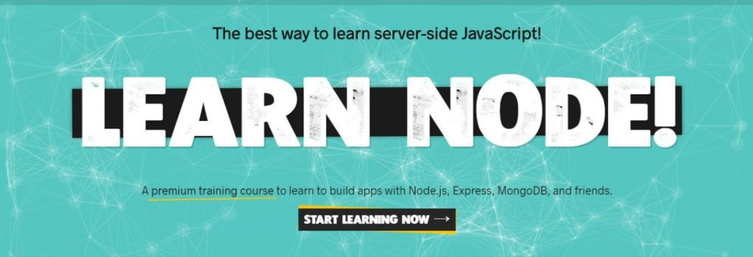 LearnNode - Best NodeJS Getting Started Tutorials