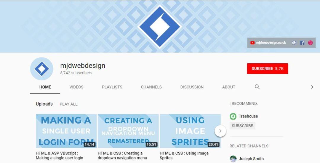 MJD Web Design