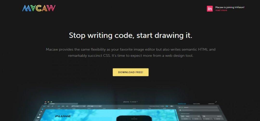 Macaw - Web Design Tool