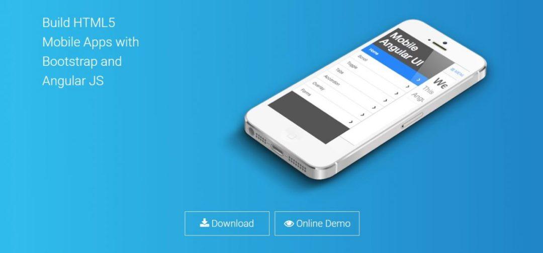 Mobile Angular UI - HTML5 Mobile Application Frameworks