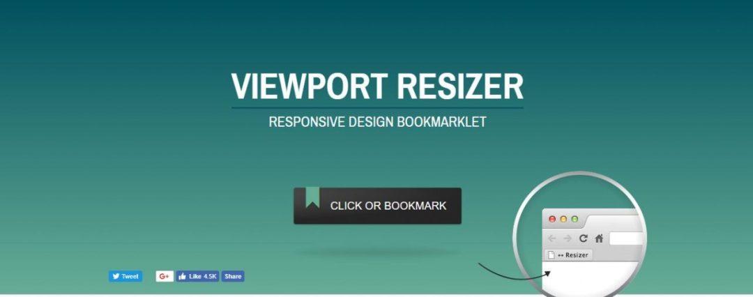 Viewport Resizer - Responsive Web Design Testing Tool