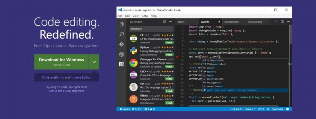 Visual Studio Code - Code Editing
