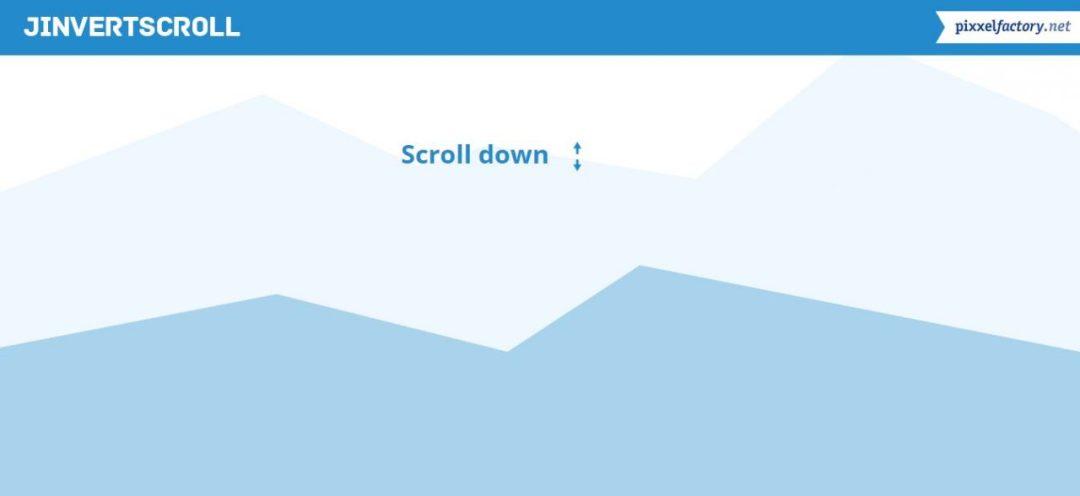 jInvertScroll -Vertical Scroll Horizontal Move with Parallax Free jQuery Plugins