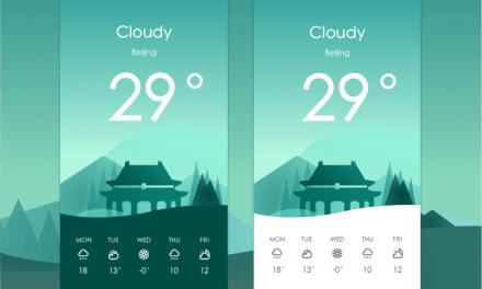 Android Weather App UI Design