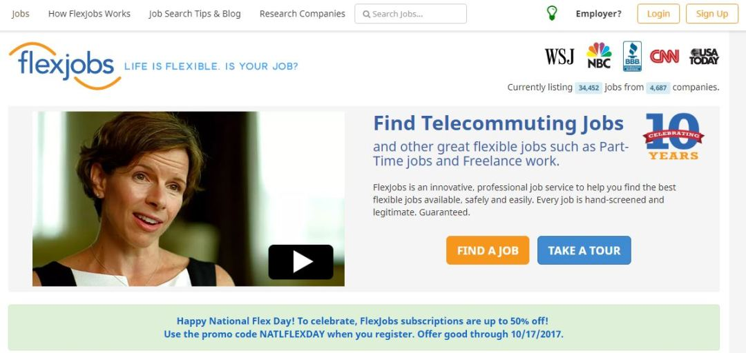 Felxjob - Professional Part Time Job