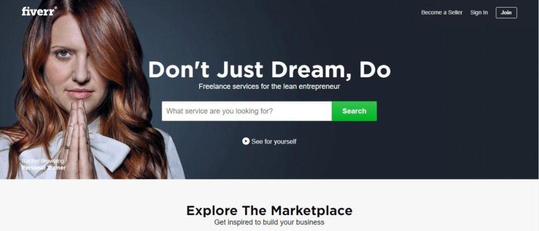 Fiverr -Freelance Service Marketplace - Freelance Sites