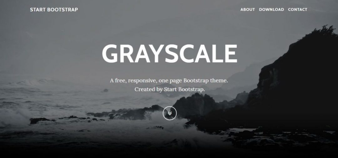 Grayscale - Free Multipurpose Smooth Scrolling Animation
