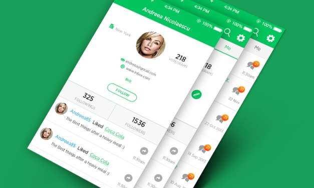 Android Profile Screen UI Design Inspiration