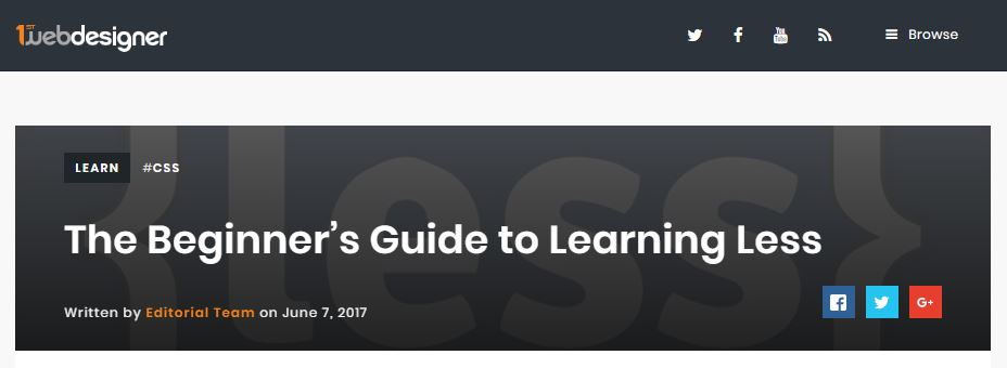 The Beginner's Guide to Learning Less