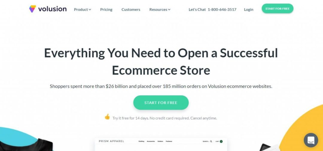 Volusion - Website Store and Shopping Cart Software