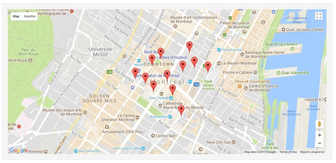 WhatsNearby -Nearby Places jQuery Plugin