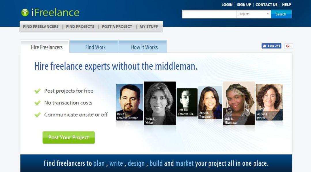 iFreelancer - Find Freelance Jobs Online