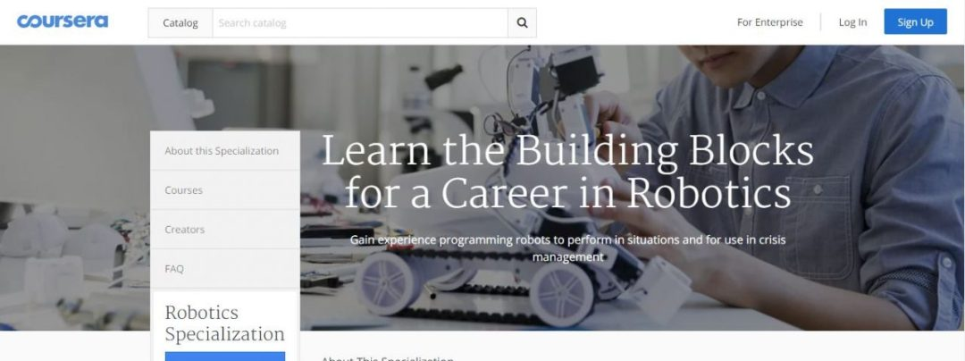 Coursera - Everything About Robot Development For A Programmer