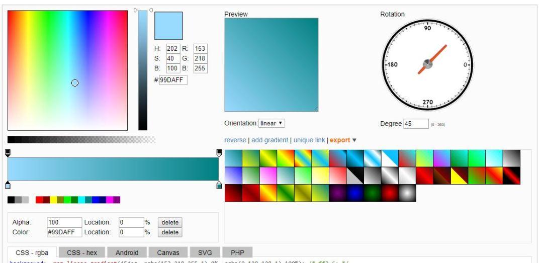 Online CSS Generator