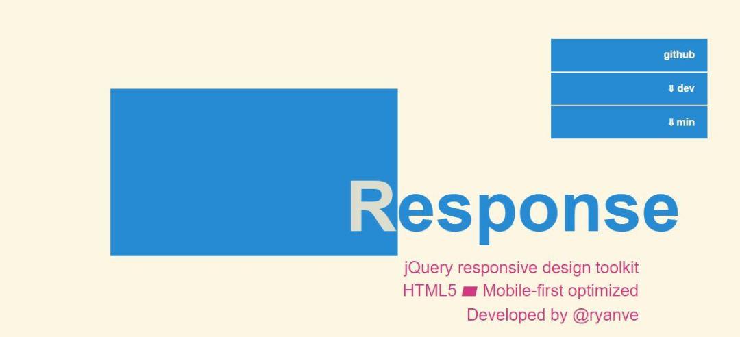 Response.jsMobile Jquery Toolkit