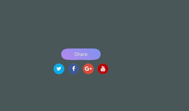 SVG Social Media Button
