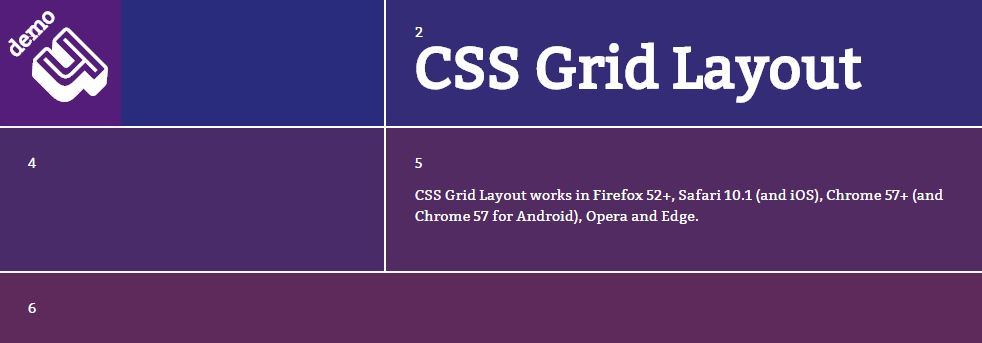 Simple CSS Grid Layout