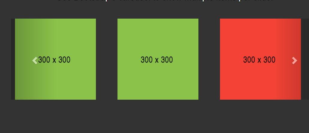 Bootstrap Multiple Items Per Slide