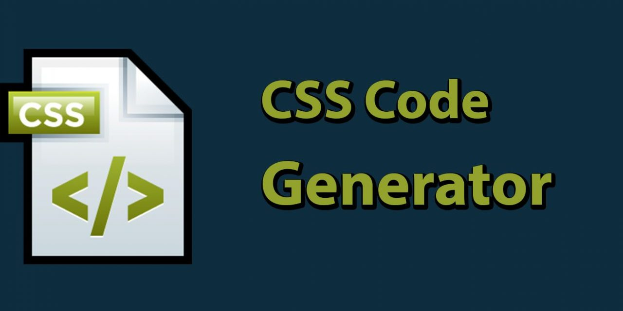 Top Free CSS Code Generator for Developers