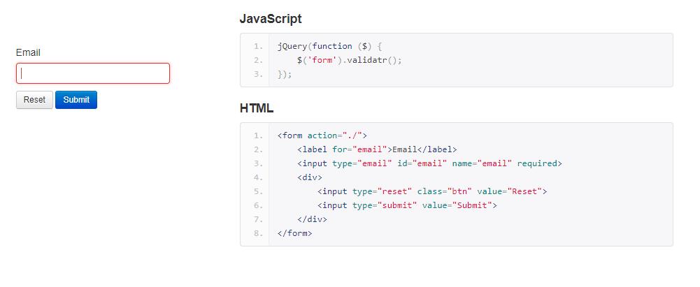 Cross Browser HTML5 Form Validation