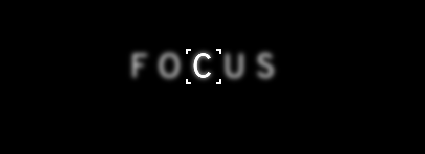 Focus Text Hover Effect CSS + jQuery