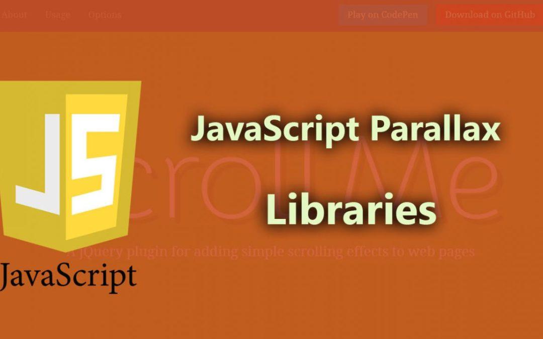 JavaScript Parallax Libraries