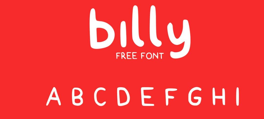 Billy Typeface
