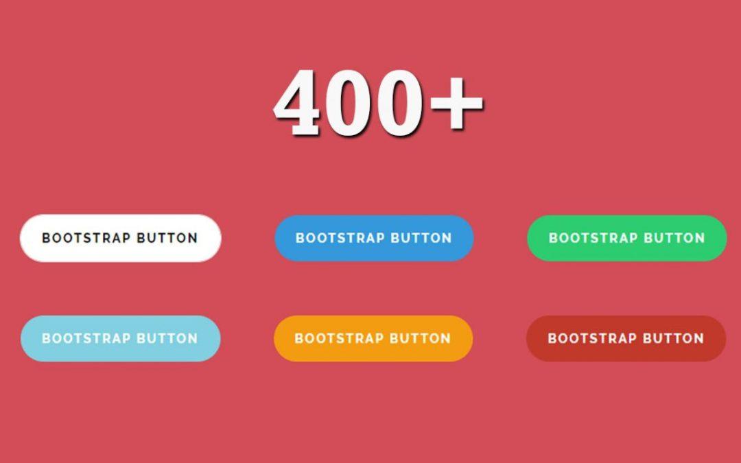 Bootstrap Buttons Design
