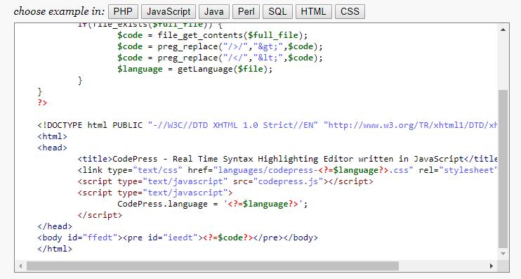 Code Press