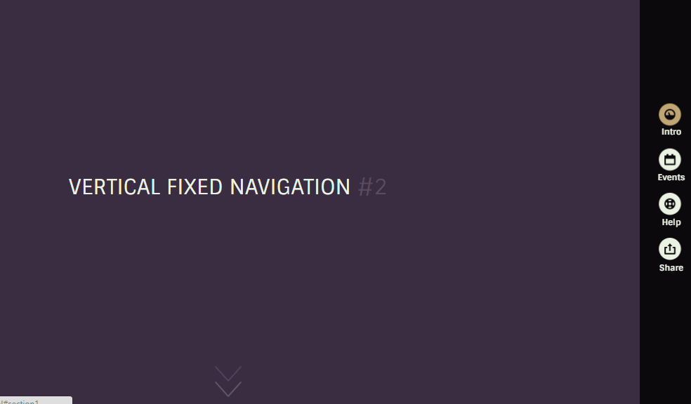 Fixed Vertical Navigation