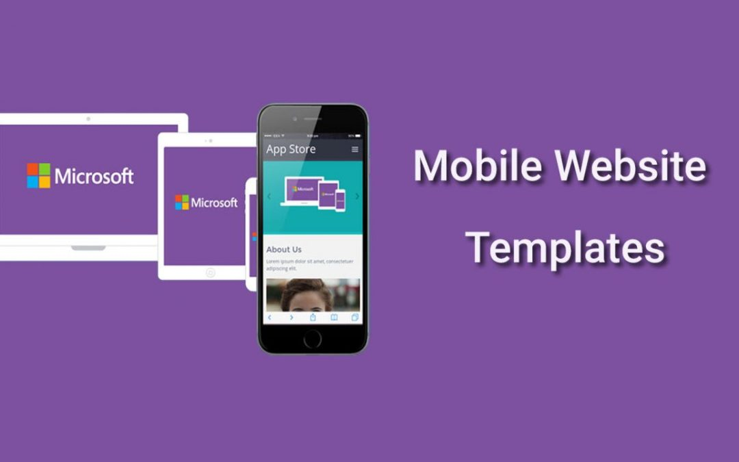 20 Free Responsive Mobile Website Templates 2020