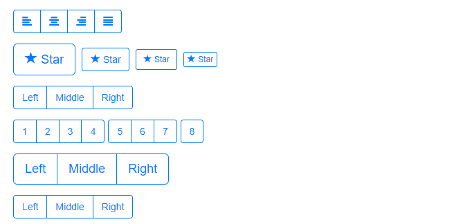 iOS inspired buttons