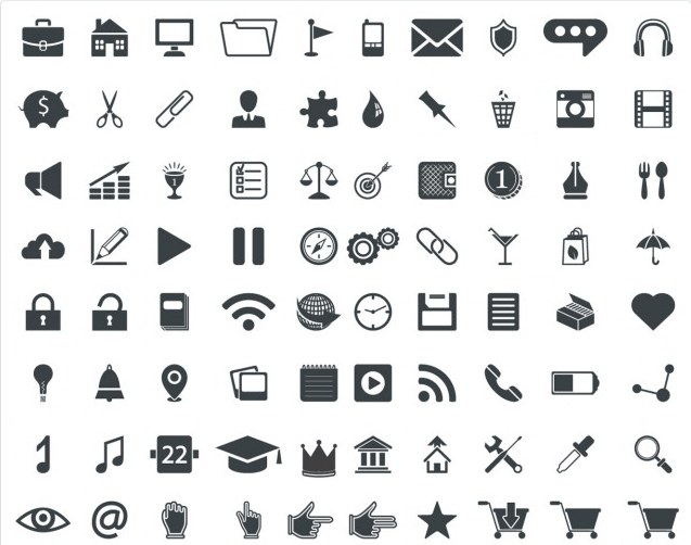 100 Universal Vector Icons