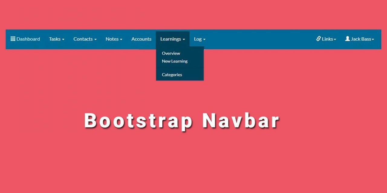 Beautiful Bootstrap Navbar Templates
