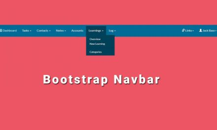Beautiful Bootstrap Navbar Templates