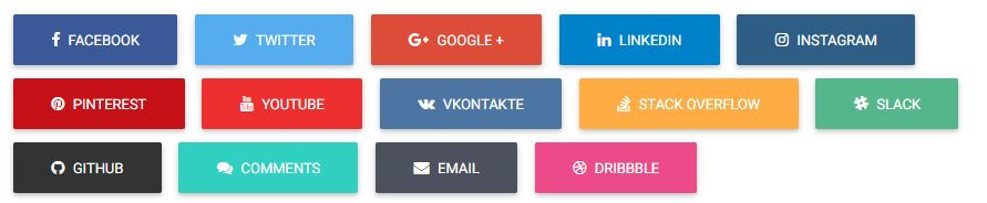 Bootstrap Social Buttons-1-Full name