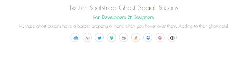 Font Awesome Twitter Bootstrap Social Icons