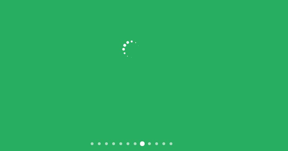 Loading Indicators Animated with CSS