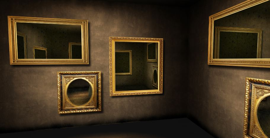 Mirror Room CSS 3D Transforms