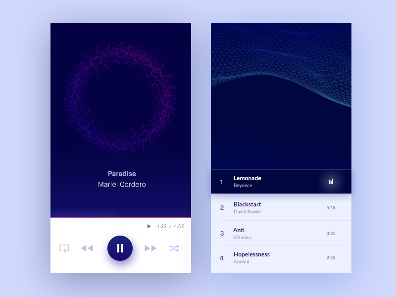 Music Player Visualizer
