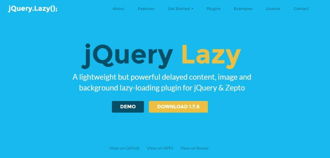 jQuery Lazy