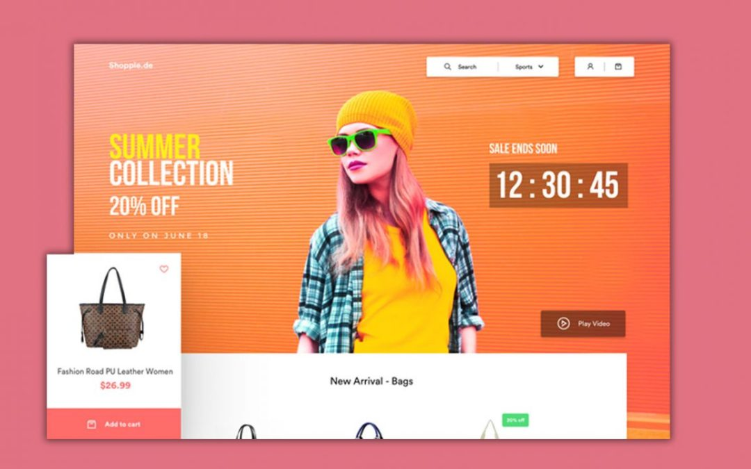 Ecommerce Website UI Design