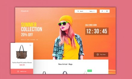 20+ Beautiful Ecommerce Website UI Design