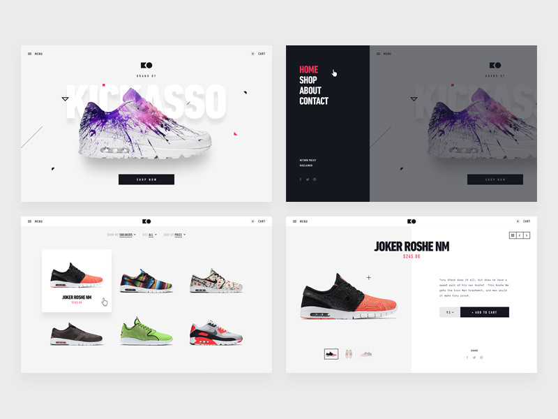 Sneakers Ecommerce Comps